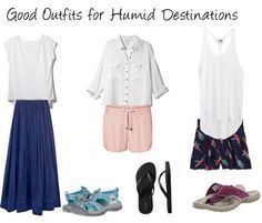how to pack for humidity - Loose, flowy and made with the right fabrics.