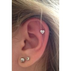 Ear Piercing ❤ liked on Polyvore featuring earrings, jewelry and piercings