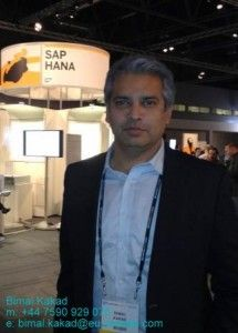 Bimal Kakad  Managing partner / EU business development  SAP project manager and technical architect with 20 years SAP experience