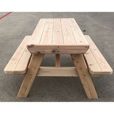 Hoddesd Kids Picnic Table Picnic Table Plans, Kids Picnic Table, Diy Outdoor Furniture, Outdoor Decor, Kids Party Tables, Building Furniture, Table And Chair Sets, Square Tables, Diy Wood Projects