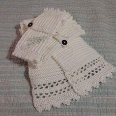 Crochet Scarf & Hand Warmers