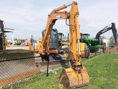 Case CX80 hydraulic excavator