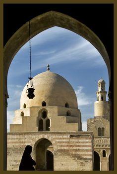 *EGYPT ~ Ibn Tulun Mosque - Old Cairo, Cairo