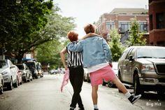 Jimin and Jungkook | BTS 'Dreaming Days' photoshoot