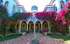 décoration extérieure de style marocain