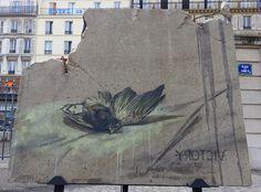 """https://flic.kr/p/u3saGQ   Expo """"Art Liberté""""     FAITH 47, Paris,  https://benedicte59.wordpress.com/2015/06/02/art-liberte-du-mur-de-berlin-au-street-art/"""
