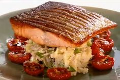 Party Magazine | Gordon Ramsay's Crispy Salmon Recipe