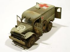 Dodge WC-54 Ambulance - Italeri - 1:35