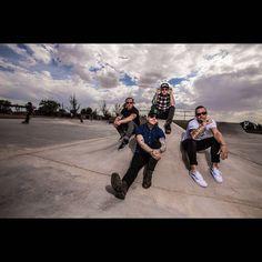 Photo via @Shinedown: The Squad #Shinedown
