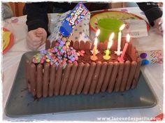 gravity cake smarties