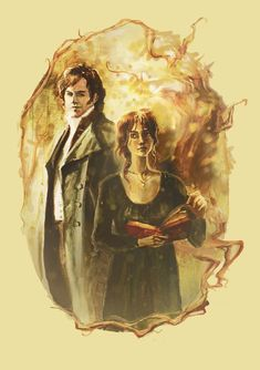 Mr. Darcy and Miss Bennet by kakao-bean.deviantart.com