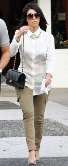 Shirt - Dolce & Gabbana Pants - Rockstar Shoes - Christian Sunglasses - Dita Necklace - Lia Sophia Purse - Chanel Similar style shirt