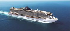Mediterranean Style Cruise - The MSC Seaside, first of their Seaside class of ships, will be sailing from Port, Miami year round to the #Caribbean with a debut November 2017. #grouptravel #leisuretravel