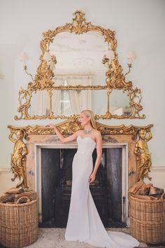 Sophisticated Fitting Wedding Dress in Full by AmyMairCouture