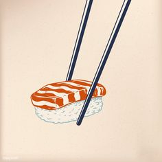 Food Graphic Design, Japanese Graphic Design, Japanese Prints, Japanese Menu, Japanese Style, Japanese Art, Vintage Japanese, Sushi Drawing, Food Drawing