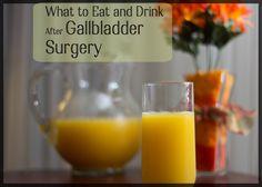 Post Gallbladder Surgery Diet