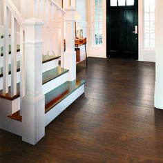 Shop Style Selections 4 84 In W X 3 93 Ft L Chestnut Handscraped Laminate Wood