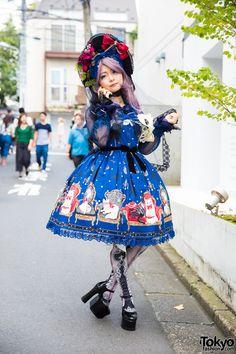 Harajuku Lolita in Angelic Pretty, Anges et Demons, Metamorphose & Lux Stellae