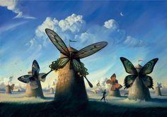 Surrealist Universe by Vladimir Kush