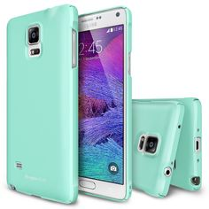 Amazon.com: Galaxy Note 4 Case - Ringke SLIM Case [Free HD Film/All Around Protection][GUNMETAL] Premium Dual Coated Hard Case Cover for Samsung Galaxy Note 4 - ECO Package: Cell Phones & Accessories