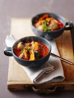 【ELLE a table】サバ缶を使ったスープ(シプケマンドルクッ)レシピ エル・オンライン
