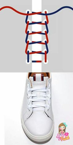 Tommy hilfiger usa how to sneakers category Ways To Lace Shoes, How To Tie Shoes, Your Shoes, Mode Outfits, Mode Style, Diy Clothes, Me Too Shoes, Tommy Hilfiger, Mens Fashion