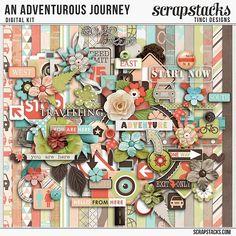 Kit: An Adventurous Journey by Tinci Designs  http://scrapstacks.com/shop/An-adventurous-journey-kit-by-Tinci-Designs.html
