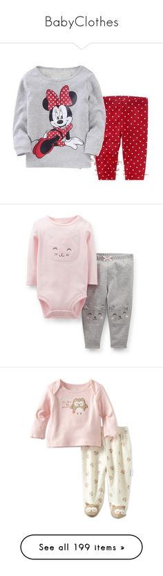 """""""BabyClothes"""" by mariana-7-mary ❤ liked on Polyvore featuring baby, kids, kids clothes, baby clothes, baby stuff, baby girl, baby girl clothes, girls, onesies and hair"""