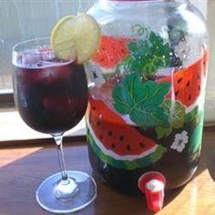 Calimocho= red wine + Coca-Cola