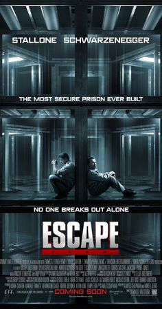 """Escape Plan (2013) Poster - """"Exciting twists and turns, great edge-of-your seat suspense, nice surprise ending. If you like the Mission Impossible movies, you'll probably enjoy this."""""""