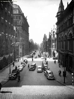 Come and join us today to celebrate this beautiful and historic street Manchester Street, Manchester Police, Manchester England, Old Pictures, Old Photos, Salford City, Now Is Good, Rochdale, Old Town