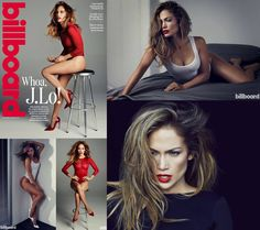 J. Lo for Billboard Magazine | June 2014
