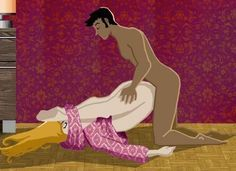 Kamasutra illustré : Plus de 120 positions amoureuses en images