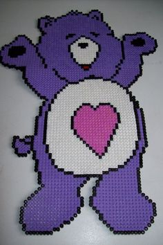 Care Bear hama beads by passionperles61