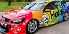 Car company Holden flies its rainbow colours at Grand Prix