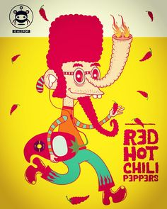 TED HOT CHILI PEPPERS ALEPOP/AGITKOM