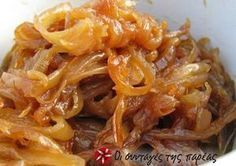 Caramelized Onion and Roasted Garlic Compote Recipe on Yummly Greek Recipes, Veggie Recipes, Cooking Recipes, Healthy Recipes, Blue Cheese Sauce, Compote Recipe, Mini Quiches, Roasted Garlic, Vegetable Side Dishes