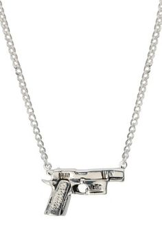 Gun necklace