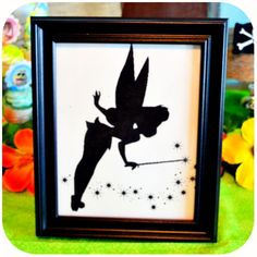 Disney Pirate Fairy Party - Tinkerbell Sign on Etsy with Kraftsbykaleigh #kraftsbykaleigh #disneypiratefairy #tinkerbell