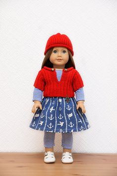 Marine Outfit #1 for American Girl by StassyDodge on Etsy  $30.00