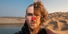 Ha percorso 5.000 km attraversando la Cina.. a piedi!Durante il percorso Christoph Rehagsi è fotografato sempre nella stessa posa… e senza mai tagliarsi la barba.