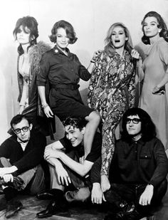 What's New Pussycat Romy Schneider Peter Sellers woody allen ursula andress Capucine Paula Prentiss peter o'toole