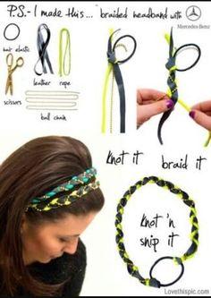 Diy boho headband