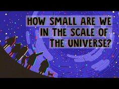 How small are we in the scale of the universe? - Alex Hofeldt - YouTube