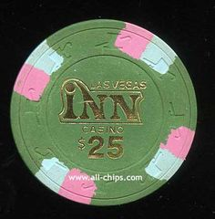#LasVegasCasinoChip of the Day is a $25 Las Vegas Inn 1st issue you can get here http://www.all-chips.com/ChipDetail.php?ChipID=18866 #CasinoChip #LasVegas