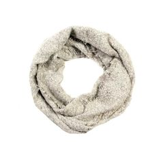 LOF Soft Solid Infinity Scarf with Fringe
