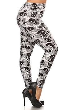 ce6676d123d6f Leggings Depot NEW ARRIVALS Womens Popular BEST Printed Plus Fashion  Leggings Batch5 Toxic -- To