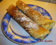 Mit eszik a magyar?: Kelt palacsinta, ahogy a nagyim készítette Hot Dog Buns, Hot Dogs, French Toast, Food And Drink, Sweets, Bread, Baking, Breakfast, Ethnic Recipes