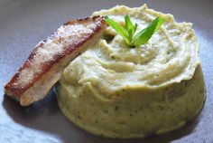 Veau, aubergines et courgettes à la menthe (7-8 mois) Baby Cooking, Baby Eating, Baby Hacks, Baby Food Recipes, Mashed Potatoes, Peanut Butter, Meals, Ethnic Recipes, Leo