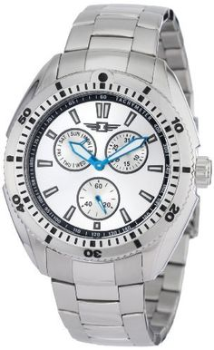I By Invicta Men's 90233-002 Multi-Function Silver Dial Stainless Steel Watch Invicta. $69.95. 60 second subdial; day and date function. Water-resistant to 165 feet (50 M). Precise Japanese-quartz movement. Durable mineral crystal; brushed and polished stainless steel case and bracelet. Silver dial with blue metallic hands and hour markers; luminous; unidirectional bezel; tachymeter scale on dial. Save 86% Off!
